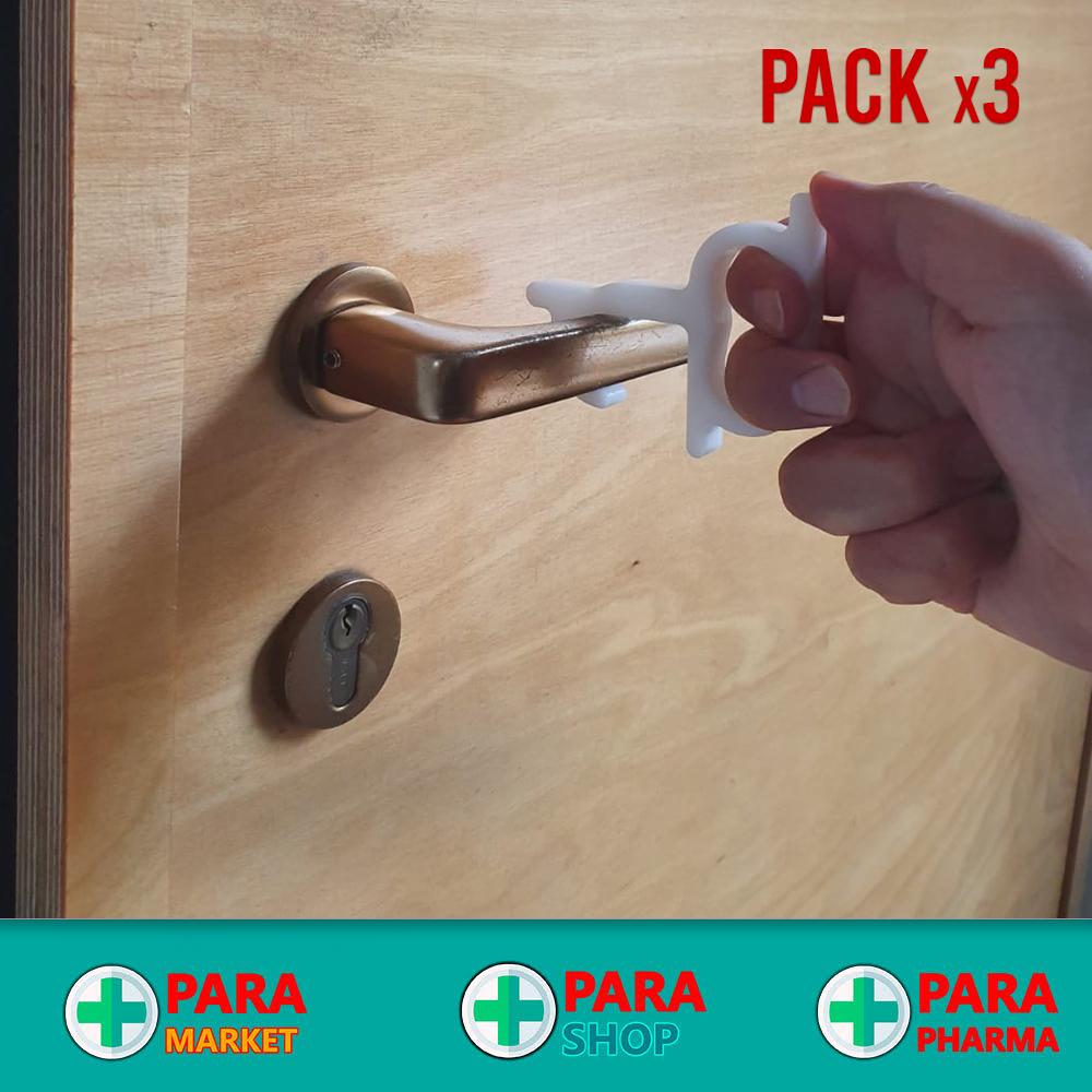 Uncino APRI PORTE / ANTICOVID Personale #1 - Pack x3