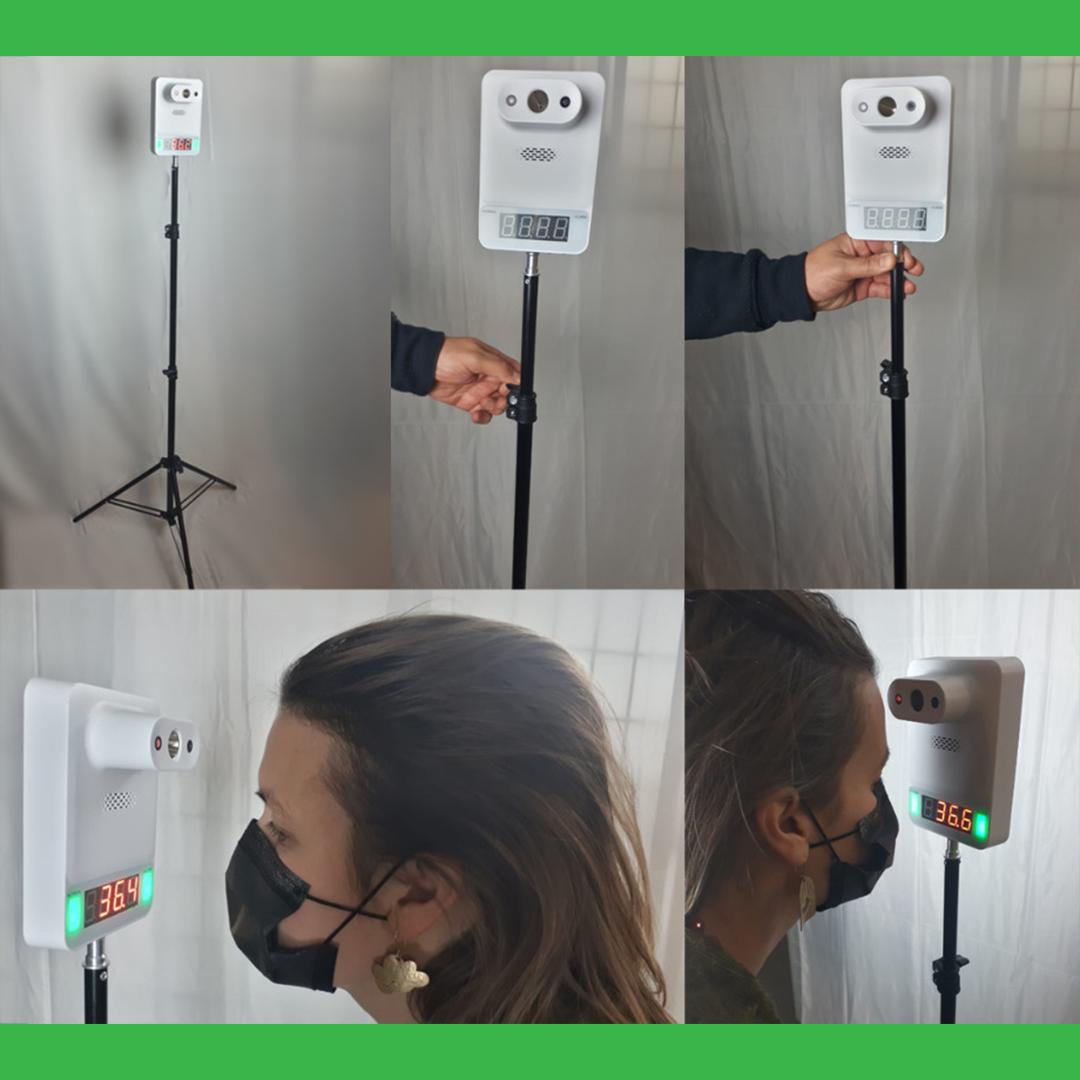 Rilevatore di temperatura automatico con avviso sonoro